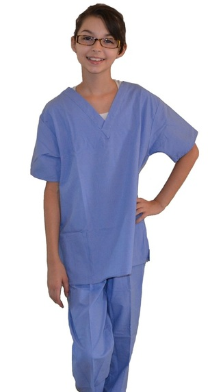 Ceil Blue Kids Nurse Scrubs Kids Nurse Scrubs